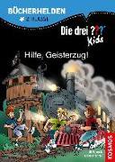 Cover-Bild zu Die drei ??? Kids, Bücherhelden 2. Klasse, Hilfe, Geisterzug!