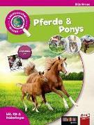 Cover-Bild zu Leselauscher Wissen: Pferde und Ponys (inkl. CD & Stickerbogen) von Krome, Silke