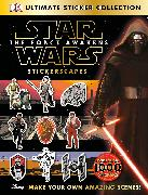 Cover-Bild zu Ultimate Sticker Collection: Star Wars: The Force Awakens Stickerscapes von Ferris, Julie