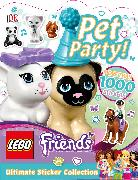 Cover-Bild zu Ultimate Sticker Collection: LEGO FRIENDS: Pet Party!