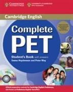 Cover-Bild zu Complete PET. Student's Book Pack von Heyderman, Emma