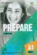 Cover-Bild zu Prepare Level 1 Teacher's Book with Downloadable Resource Pack von Heyderman, Emma
