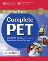 Cover-Bild zu Complete Pet Student's Book Without Answers with CD-ROM and Testbank von Heyderman, Emma
