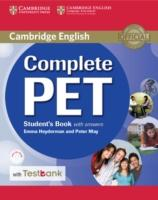 Cover-Bild zu Complete Pet Student's Book with Answers with CD-ROM and Testbank von Heyderman, Emma
