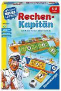 Cover-Bild zu Ravensburger 24972 - Rechen-Kapitän - Spielen und Lernen für Kinder, Lernspiel für Kinder von 6-8 Jahren, Spielend Neues Lernen für 1-4 Spieler, Zahlenraum 1-20 von Knizia, Reiner