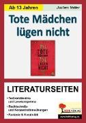 Cover-Bild zu Tote Mädchen lügen nicht - Literaturseiten (eBook) von Vatter, Jochen