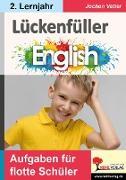 Cover-Bild zu Lückenfüller Englisch / ab 2. Lernjahr (eBook) von Vatter, Jochen