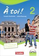 Cover-Bild zu À toi! 2. Carnet d'activités. Lehrerfassung von Héloury, Michèle