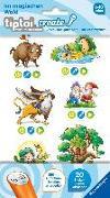 Cover-Bild zu Broska, Elke (Illustr.): tiptoi® CREATE Sticker Im magischen Wald