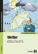 Cover-Bild zu Wetter - Differenzierte Materialien für den inklusiven Sachunterricht (2. bis 4. Klasse) von Schub, Christine