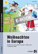 Cover-Bild zu Weihnachten in Europa (eBook) von Weber, Nicole