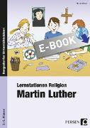 Cover-Bild zu Lernstationen Religion: Martin Luther (eBook) von Weber, Nicole