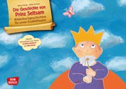 Cover-Bild zu Die Geschichte von Prinz Seltsam. Wie gut, dass jeder anders ist! Kamishibai Bildkartenset mit Informationen zum Down-Syndrom von Schnee, Silke