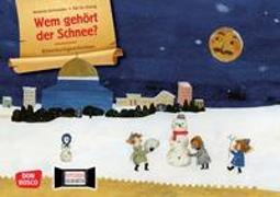 Cover-Bild zu Wem gehört der Schnee? Kamishibai Bildkartenset von Walke, Michael