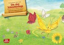 Cover-Bild zu Die drei Schmetterlinge. Kamishibai Bildkartenset von Brandt, Susanne