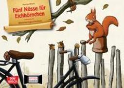 Cover-Bild zu Fünf Nüsse für Eichhörnchen. Kamishibai Bildkartenset von Wilson, Henrike