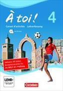 Cover-Bild zu À plus! 4. Carnet d'activités. Lehrerfassung von Herzog, Walpurga