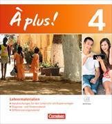 Cover-Bild zu À plus! 4. Nouvelle édition. Lehrermaterialien von Becker, Julius