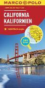 Cover-Bild zu MARCO POLO Länderkarte Kalifornien 1:800 000. 1:800'000