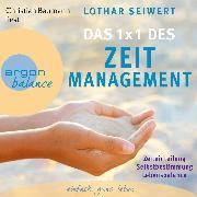 Cover-Bild zu Das 1x1 des Zeitmanagement (Audio Download) von Seiwert, Lothar
