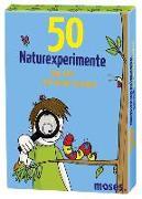 Cover-Bild zu 50 Naturexperimente von Berger, Nicola
