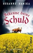 Cover-Bild zu Bekenne deine Schuld (eBook) von Hanika, Susanne