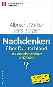 Cover-Bild zu Nachdenken über Deutschland (eBook) von Müller, Albrecht