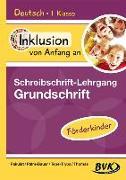 Cover-Bild zu Inklusion von Anfang an: Deutsch - Schreibschrift-Lehrgang Grundschrift (GS) - Förderkinder von Pakulat, Dorothee