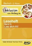 Cover-Bild zu Inklusion von Anfang an: Deutsch - Leseheft 5 von Pakulat, Dorothee