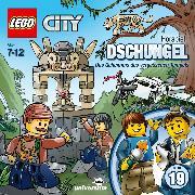 Cover-Bild zu LEGO City: Folge 19 - Dschungel - Das Geheimnis des vergessenen Tempels (Audio Download) von Stein, Flemming (Gelesen)