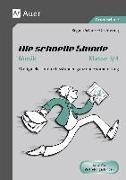 Cover-Bild zu Die schnelle Stunde Musik Klasse 3-4 von Schulze-Oechtering, Regina