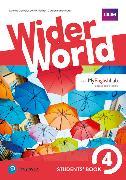 Cover-Bild zu Wider World Level 4 Students' Book with MyEnglishLab Pack von Barraclough, Carolyn