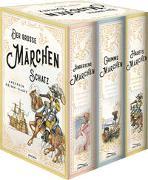 Cover-Bild zu Der große Märchenschatz (Andersens Märchen - Grimms Märchen - Hauffs Märchen) (3 Bände im Schuber) von Grimm, Wilhelm