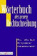 Cover-Bild zu Wörterbuch der Rechtschreibung (eBook)