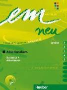 Cover-Bild zu em neu 2008 Abschlusskurs Kursbuch, Arbeitsbuch , Lektion 1 - 5 mit Arbeitsbuch-Audio-CD von Perlmann-Balme, Michaela