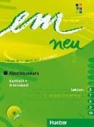 Cover-Bild zu em neu 2008 Abschlusskurs Kursbuch, Arbeitsbuch , Lektion 6 -10 mit Arbeitsbuch-Audio-CD von Perlmann-Balme, Michaela
