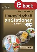Cover-Bild zu Hauswirtschaft an Stationen 9-10 (eBook) von Troll, Christa