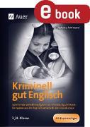 Cover-Bild zu Kriminell gut Englisch, Klasse 3/4 (eBook) von Pohlmann, Stefanie