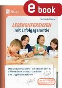 Cover-Bild zu Lesekonferenzen mit Erfolgsgarantie (eBook) von Pohlmann, Stefanie