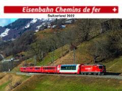 Cover-Bild zu Cal. Eisenbahn 2022 Ft. 31,5x23