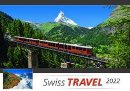 Cover-Bild zu Cal. Swiss Travel 2022 Ft. 48x33