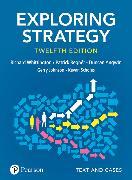 Cover-Bild zu Exploring Strategy, Text and Cases, 12th ed von Whittington, Richard