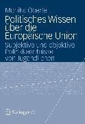 Cover-Bild zu Politisches Wissen über die Europäische Union (eBook) von Oberle, Monika