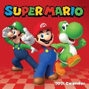 Cover-Bild zu Super Mario 2021 Wall Calendar