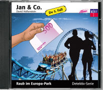 Cover-Bild zu Jan und Co. 05. Raub im Europa-Park von Hollenstein, David