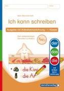 Cover-Bild zu Ich kann schreiben Teil 1 - Ausgabe mit Artikelkennzeichnung 1. Klasse von Langhans, Katrin