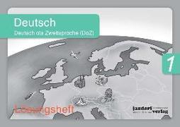 Cover-Bild zu Deutsch 1 (DaZ) (Lösungsheft) von Wachendorf, Anja