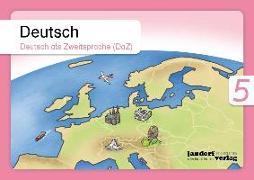 Cover-Bild zu Deutsch 5 (DaZ) von Wachendorf, Anja
