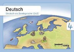 Cover-Bild zu Deutsch 4 (DaZ) von Wachendorf, Anja