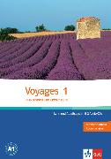 Cover-Bild zu Voyages 1. Lehr- und Arbeitsbuch von Jambon, Krystelle
